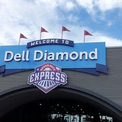 Photo taken at Dell Diamond by Scott S. on 5/5/2013