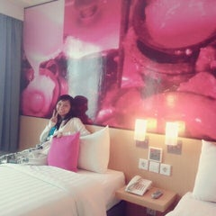 Photo taken at favehotel MEX Surabaya by RrAngelaPatricia S. on 5/15/2015