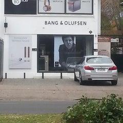 Photo taken at Bang & Olufsen by Jo L. on 5/2/2014