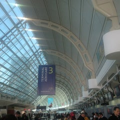 Photo taken at Terminal 3 by Justin D. on 2/13/2013