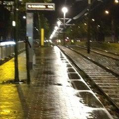 Photo taken at Tramhalte Vennepluimstraat by Iris v. on 11/6/2012