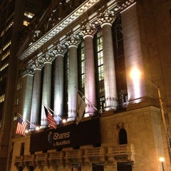 Photo taken at New York Stock Exchange by Ian on 2/5/2013