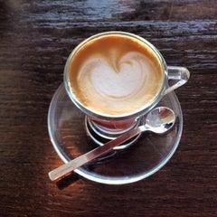 Photo taken at Saquella Espresso Club by Tete O. on 2/12/2014