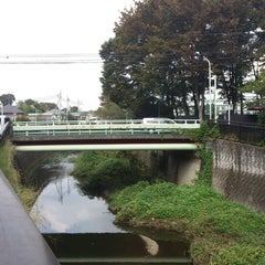 Photo taken at 宮下橋 by けい on 10/6/2012