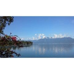 Photo taken at Danau Maninjau by Aditya N. on 9/8/2014
