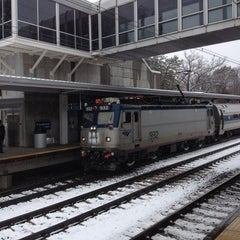 Photo taken at BWI Amtrak/MARC Rail Station (BWI) by Jamie G. on 3/25/2013