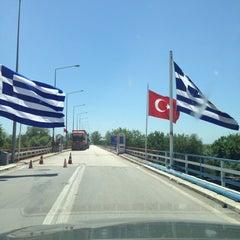 Photo taken at Greece Kipoi Border Station (Tελωνείο Kήπων) by Ferral on 6/21/2013