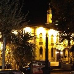 Photo taken at Yeni Cuma Camii by Hakan Y. on 10/10/2012
