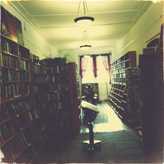 Photo taken at Borderlands Books by John L. on 3/30/2013