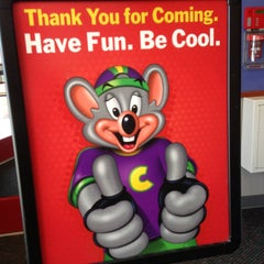 Photo taken at Chuck E. Cheese's by Nidal on 5/4/2013