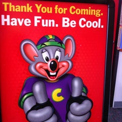 Photo taken at Chuck E. Cheese's by Nidal on 12/30/2012