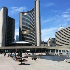 Photo taken at Nathan Phillips Square by William M. on 5/22/2013