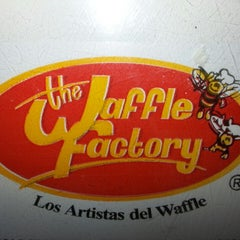 Photo taken at The Waffle Factory by Papito on 5/4/2013