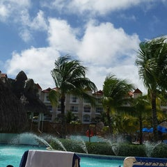 Photo taken at Barcelo Premium Pool by Amy on 11/22/2014