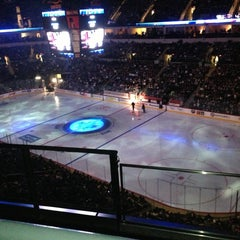 Photo taken at MTS Centre by Tyler on 1/28/2013