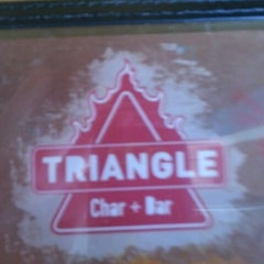 Photo taken at Triangle Char & Bar by Bo K. on 10/7/2012