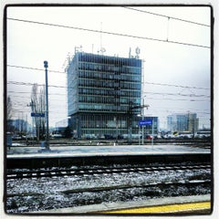 Photo taken at Warszawa Zachodnia by Yan Y. on 12/4/2012
