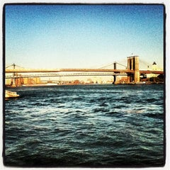 Photo taken at New York Water Taxi - Pier 11, Slip A by Evan R. on 10/11/2012