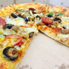 Photo taken at Domino's Pizza by M.S.H on 4/20/2015