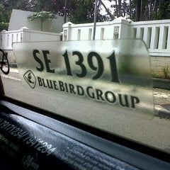 Photo taken at Blue Bird Taxi by Firmanto Y. on 2/13/2013