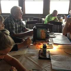 Photo taken at Montana Mike's Steakhouse by Laura T. on 7/30/2013
