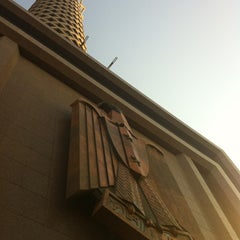 Photo taken at Cairo Tower | برج القاهرة by Mohamed on 9/28/2012