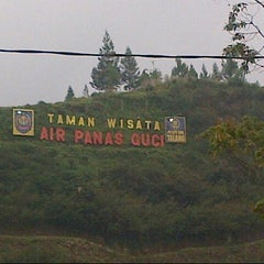 Photo taken at Taman Wisata Air Panas Guci by Eka L. on 5/1/2013
