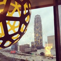 Photo taken at Hotel Derek by Stephanie B. on 1/12/2013