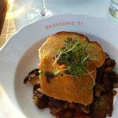 Photo taken at Brasserie T by Michel R. on 7/1/2013