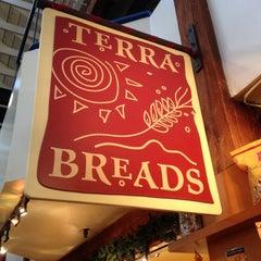 Photo taken at Terra Breads False Creek by Iris on 12/25/2014