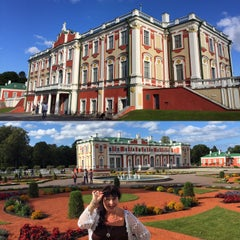 Photo taken at Kadrioru Loss | Kadriorg Palace by Desirée C. on 9/13/2015