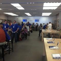 Photo taken at Apple Store, City Creek Center by Akram J. on 10/2/2012