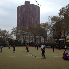 Photo taken at Hester Street Playground by Linny L. on 11/10/2012