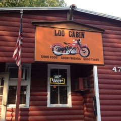 Photo taken at The Log Cabin Inn by Michiko B. on 6/20/2013