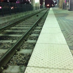 Photo taken at Downtown Garland Station (DART Rail) by Sten-Erik A. on 2/15/2013