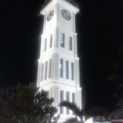 Photo taken at Jam Gadang by Puti A. on 10/27/2012