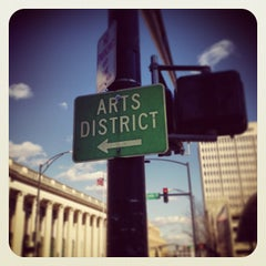 Photo taken at Downtown Arts District by Beth W. on 1/31/2013