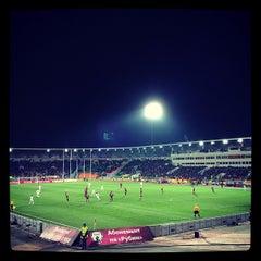 Photo taken at Центральный Стадион / Central Stadium by Alexander K. on 11/22/2012
