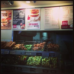 Photo taken at Bruegger's by Theo on 3/23/2013