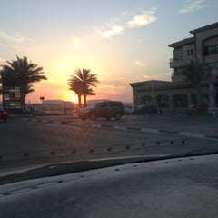 Photo taken at Abu Dhabi - Dubai Road by Ahmed S. on 10/21/2012