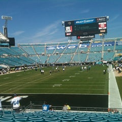 Photo taken at EverBank Field by Tiffany on 11/4/2012