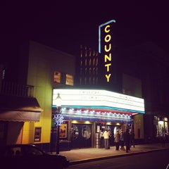 Photo taken at County Theater by José L. on 12/31/2013