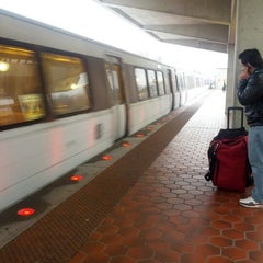 Photo taken at Greenbelt Metro Station by Mary J. on 1/15/2013