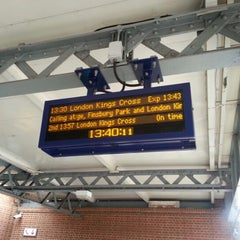 Photo taken at Hitchin Railway Station (HIT) by Joseph G. on 9/16/2012