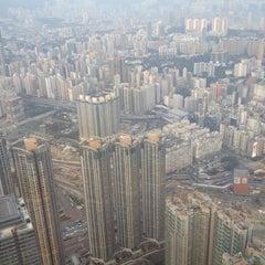 Photo taken at The Ritz-Carlton, Hong Kong by Adamov V. on 11/14/2012