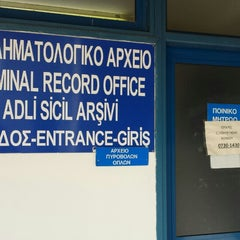 Photo taken at Criminal Record Office by Konstantinos M. K. on 9/2/2014