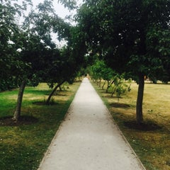 Photo taken at Fulham Palace Gardens by Philip S. on 7/18/2015