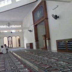 Photo taken at Masjid Sukajadi by Dondi H. on 1/11/2013