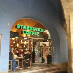 Photo taken at Starbucks by Desi D. on 12/10/2012