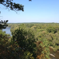 Photo taken at Raven Rock State Park by Azeem T. on 10/6/2012